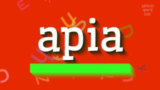 """How to say """"apia""""! (High Quality Voices)"""