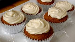Pumpkin Cupcakes - Recipe By Laura Vitale - Laura In The Kitchen Episode 202