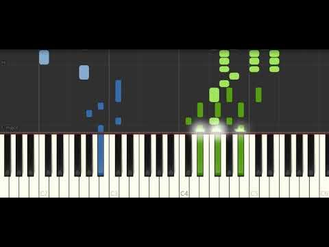I'm Gonna Love Me Again From Rocketman Elton John & Taron Egerton  [Piano Tutorial] (Synthesia)
