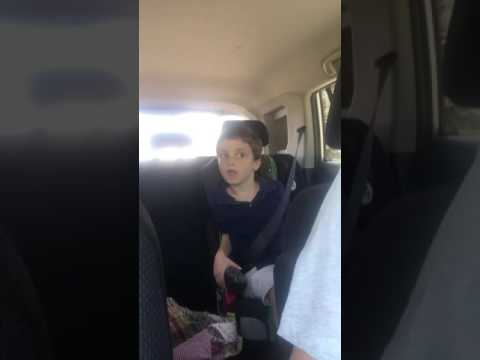 Comfortably Numb Car Karaoke by my autistic/non verbal son. Love him!