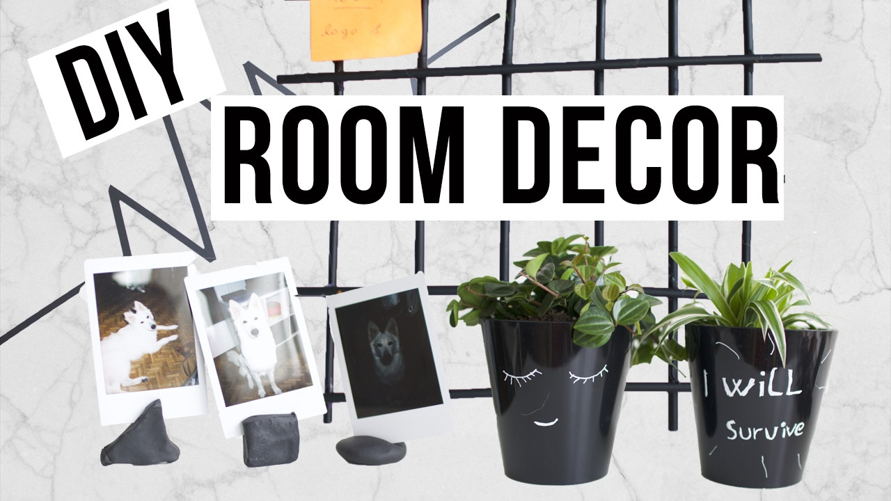 diy deco chambre noir faciles rapides et pas cher. Black Bedroom Furniture Sets. Home Design Ideas