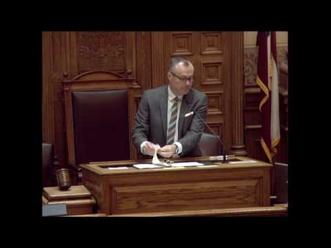 GA Senate Day 29- Friday, February 26, 2016
