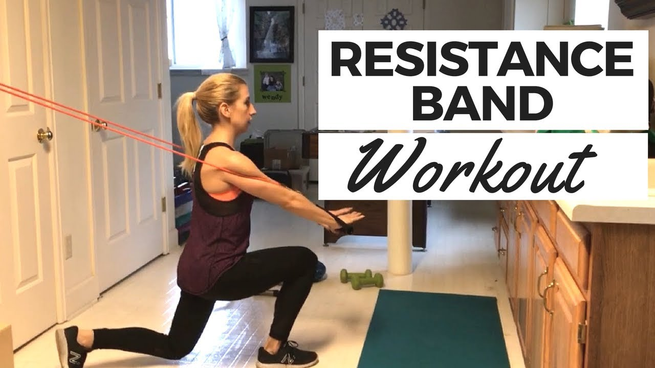 Full-Body Resistance Band Home Workout Routine | Renewal Fitness Coaching