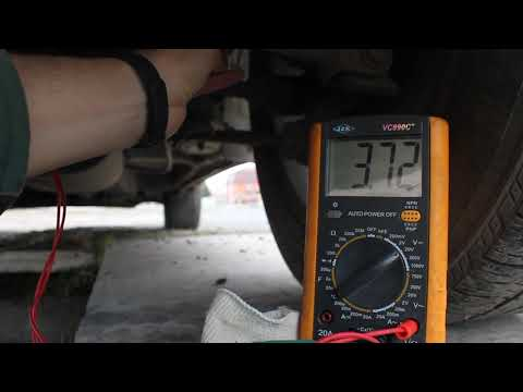Проверка датчика кузова на автомобиле Lexus RX