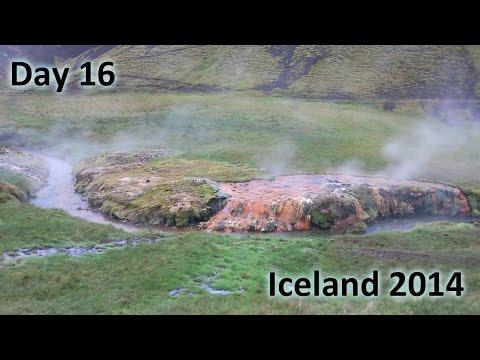 Iceland 2014 - Day 16 - From Reykjavik over Nesjavellir and Reykjadalur to Keflavik Airport