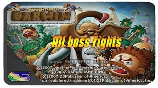 The Adventures of Darwin All Boss Fights