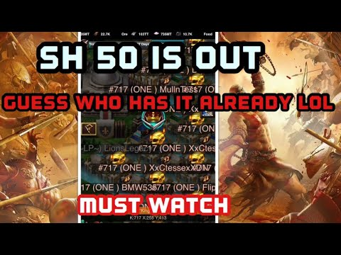 Game of War: SH50 is out.lol Come see something Epic!!