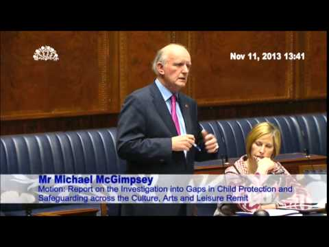 Debate - Child Protection and Safeguarding: Culture, Arts and Leisure Remit - 11 Nov 2013