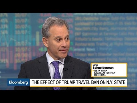 NY AG Schneiderman Sees Success for Travel Ban Cases