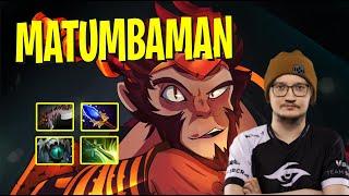 MATUMBAMAN - Monkey King   GGWP   Dota 2 Pro Players Gameplay   Spotnet Dota 2