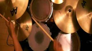 Hina-chang~Drum cover~Fatboy Slim Slash Dot Dash
