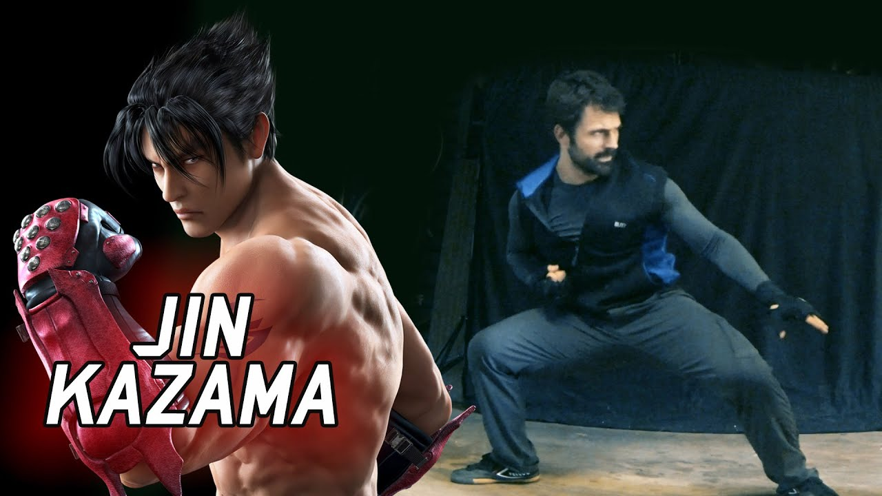 Real Life Tekken Jin Kazama S Karate Eric Jacobus Youtube