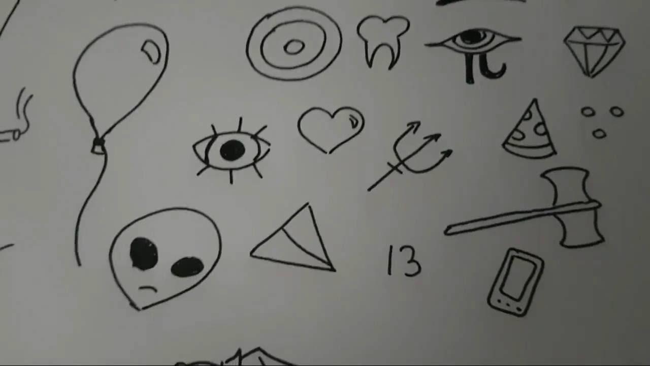 Basit çizimler En Kolay çizimler Youtube