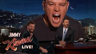 failzoom.com - Matt Damon Ruins Chris Hemsworth Interview