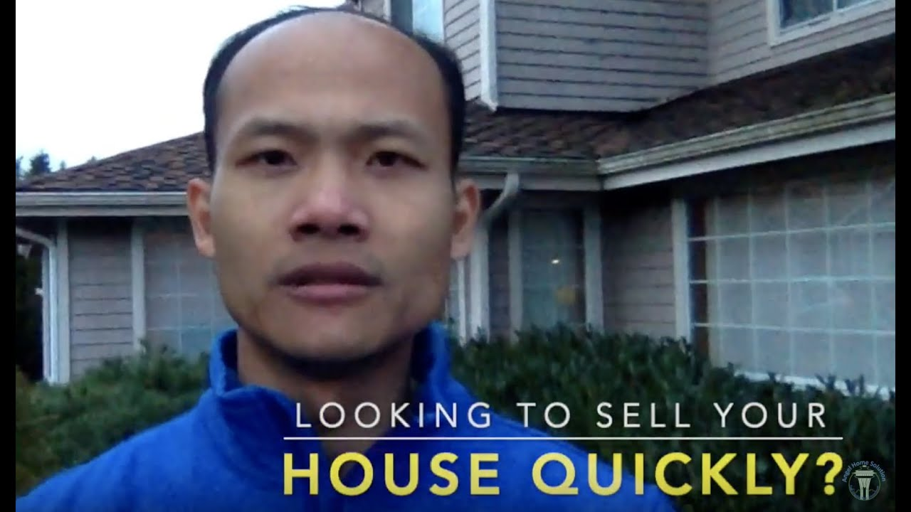 Looking to Sell my house quickly right now?