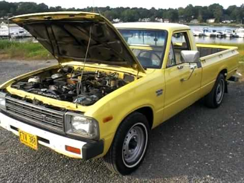 1982 Toyota Pick Up 2 2l Diesel 5 Spd Rust Free Youtube