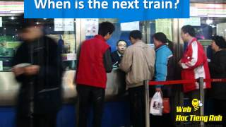 At the train station - Basic English for Communication