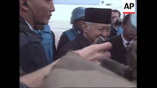 BOSNIA: INDONESIAN PRESIDENT SUHARTO ENDS VISIT