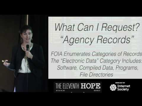 The Eleventh HOPE (2016): FOIA and Public Records Hacking: Dox Yourself via the Privacy Act