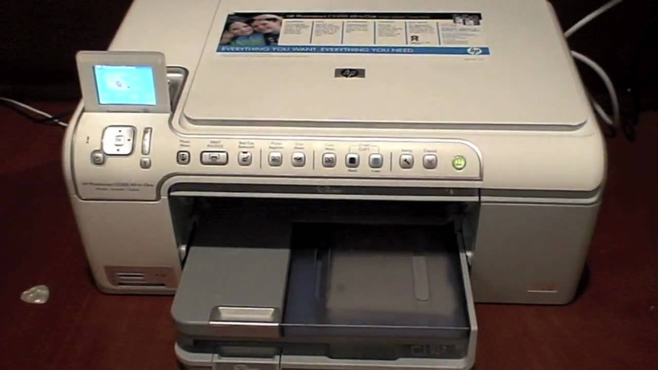 review of the hp photosmart c5280 all in one printer copier rh youtube com user manual hp photosmart c5280 manual hp photosmart c5280