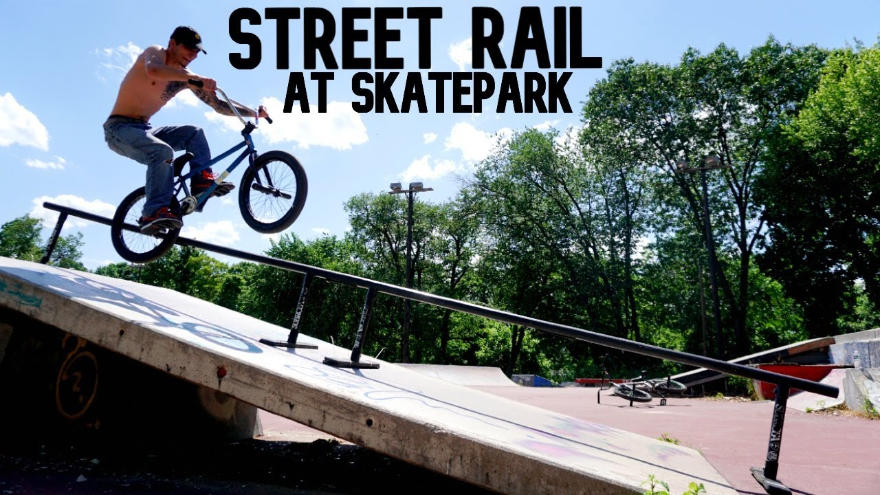 Brought my Street Rail to the Park!