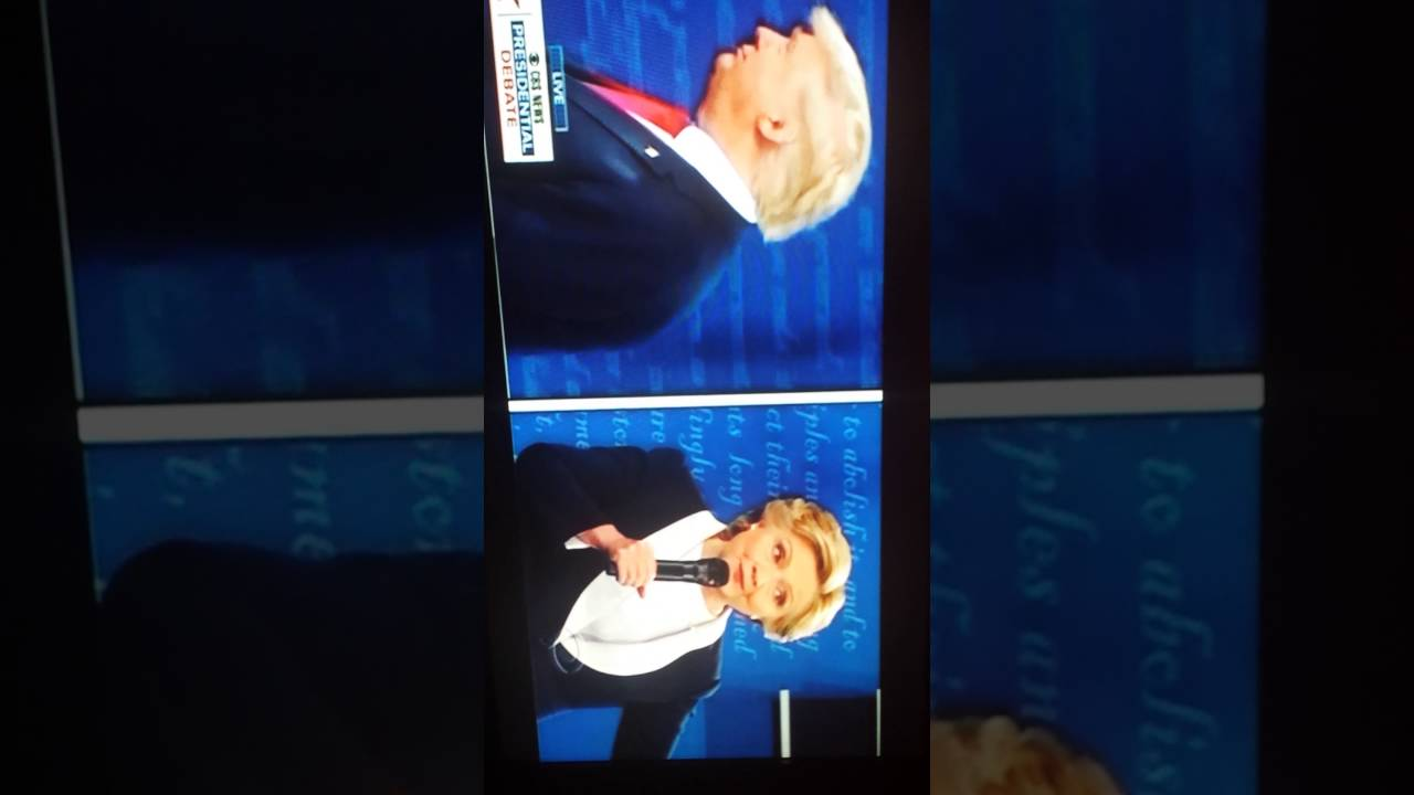 tonights 2nd presidential debate - 1280×720