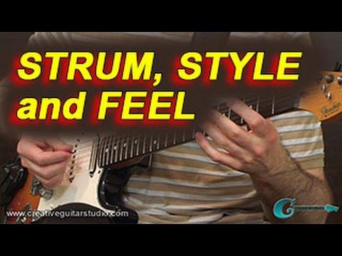 RHYTHM GUITAR: Mastering Strum, Style & Feel