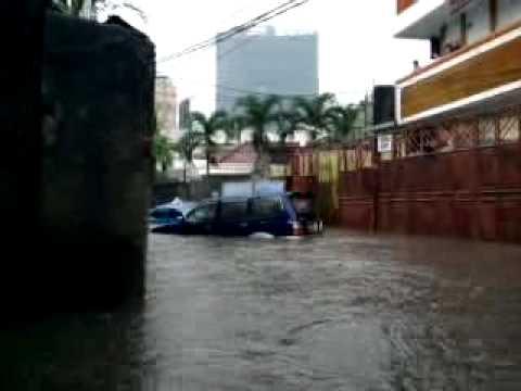 Banjir Jakarta 26/10/2010