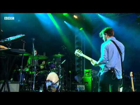 The Naked and Famous perform Young Blood at Reading Festival 2011,BBC