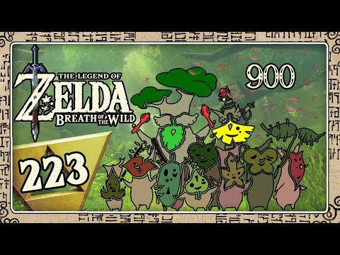 THE LEGEND OF ZELDA BREATH OF THE WILD Part 223: Alle 900 Kr