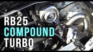 Nissan Stagea compound turbo