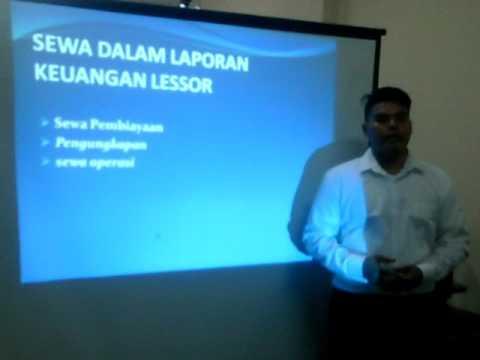 Seminar Akuntansi Keuangan Kelompok 5  Psak 30 Dan 55