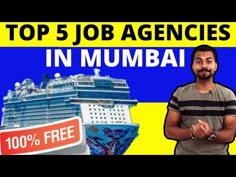 Top 5 job agencies in Mumbai | Free Jobs on Cruise Ships
