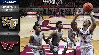 Wake Forest  vs. Virginia Tech Condensed Game | 2018-19 ACC Basketball