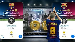 Exclusive Gold+ Fc Barcelona Special Agent - Pes 18 Mobile Pack Opening