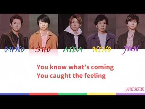 Arashi-turning Up/color Coded Lyrics