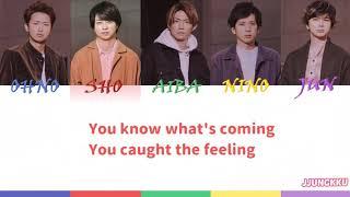 Cover images ARASHI-turning up/Color coded Lyrics