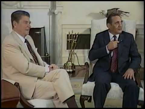 President Reagan's Photo Opportunities in the Oval Office and Rose Garden on May 21-24, 1984