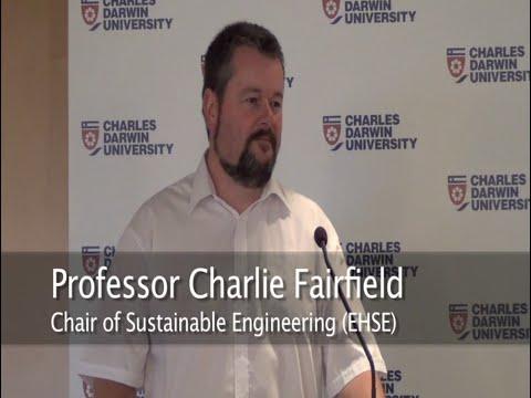 CDU Professorial Lecture Series - Professor Charlie Fairfield - August 2014