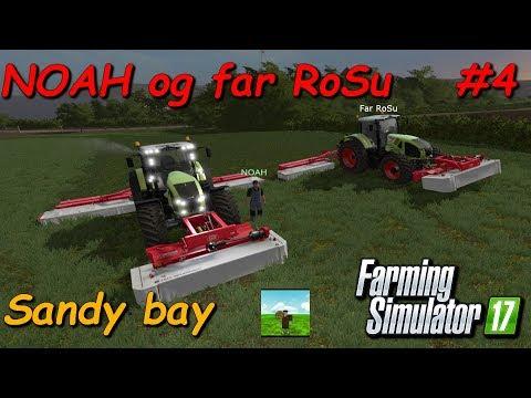 NOAH og far RoSu #4 Farming Simulator 2017 Sandy bay thumbnail
