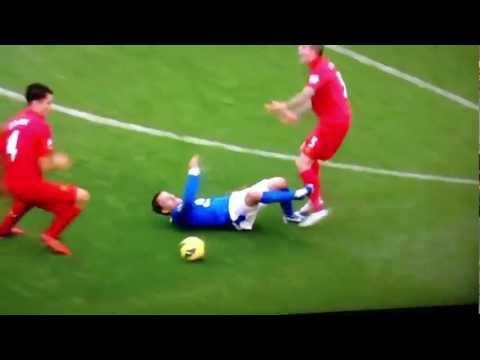 Philip Neville dive vs Liverpool