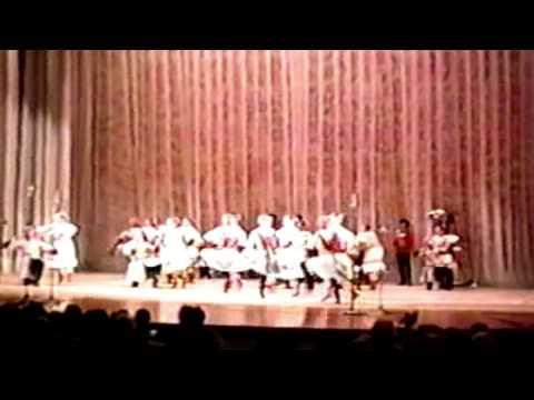 """Народній танець """"Кубанський Koзачий Xор"""" Київ (Kyiv) 20.05.1989 [Kuban Cossacks]"""