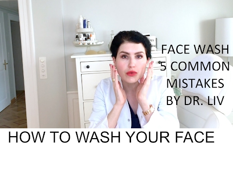 How to wash your face properly to avoid acne- by Dr. Liv