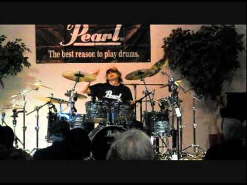 Virgil Donati at Marshall Music in Lansing, MI