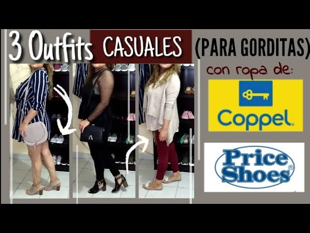 Outfits Completos Casuales Para Gorditas Ropa De Coppel Price Shoes Y Mas Otono 2019 Youtube