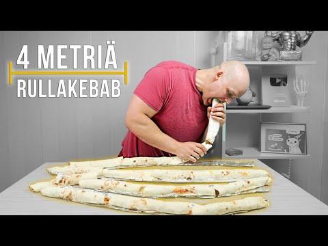 4-metriÄ-rullakebabbia- -ruokahaaste