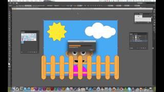 Import Photoshop and Illustrator Files into Flash CS6