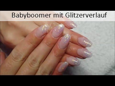 Babyboomer Mit Glitzerverlauf Nugenesis Youtube