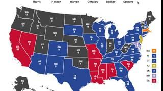 2020 Democratic Primary Prediction | Warren vs Sanders vs Booker vs O