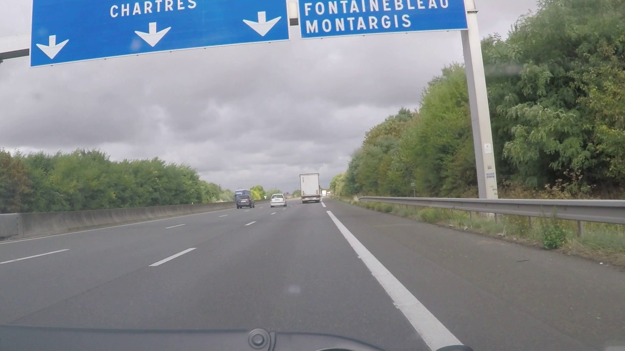 france by autoroute orleans a10 a19 junction for metz youtube. Black Bedroom Furniture Sets. Home Design Ideas